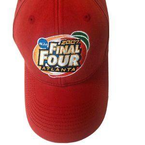NCAA Final Four 2007 Atlanta Hat Coca Cola Red